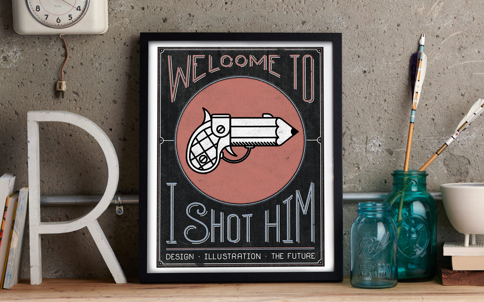 Welcome to I Shot Him